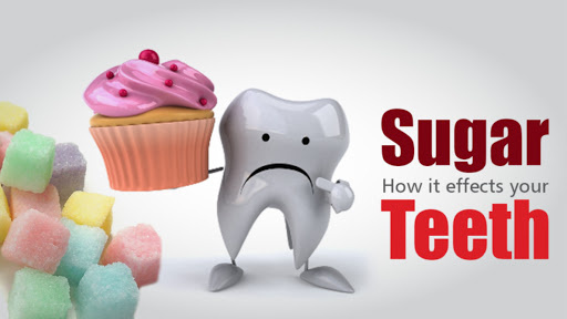 effect of sugar in teeth